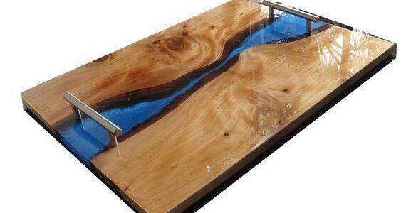 Workshop: Cutting board with epoxy decor